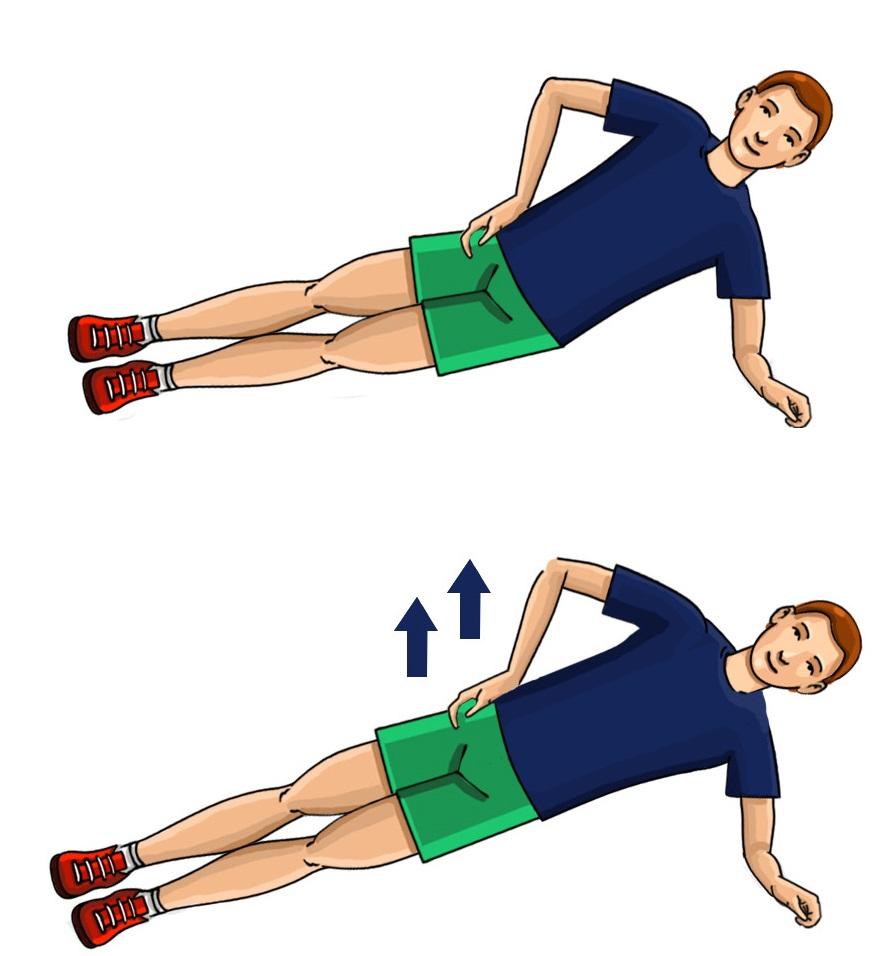 Ćwiczenia wzmacniające boczne partie pleców i brzucha