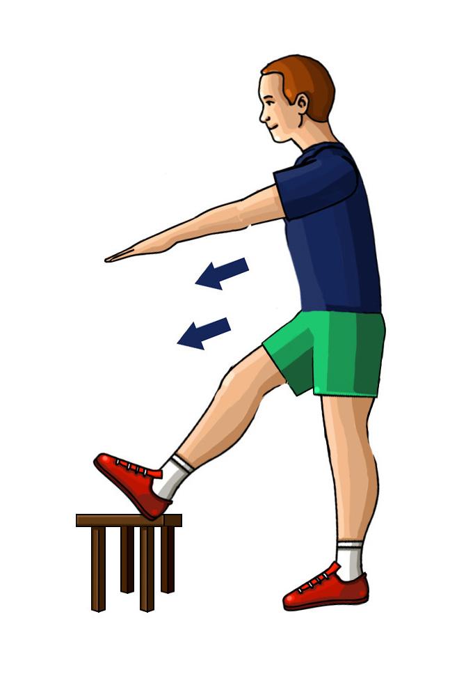 Ćwiczenie rozciągające mięśnie pośladków i ud